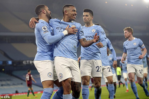 Guardiola's unstoppable City side beat Wolves on Tuesday night - their 21st victory in a row