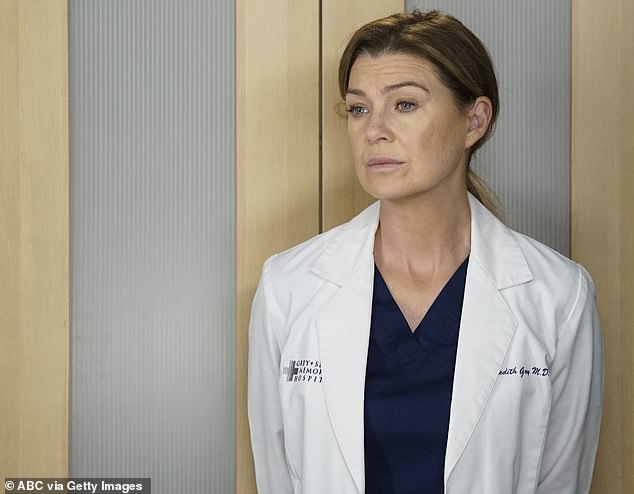 Exciting: It wasn't until recently that Ellen addressed the future of Grey's Anatomy, telling CBS Sunday Morning, `` I can't say.  I can not tell.  We honestly haven't decided.  We are really trying to figure it out now.  (depicted as her character, Dr Meredith Gray)