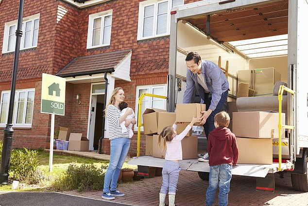 Moving day: Many home movers will hire a van or lorry and do their removal themselves to save on costs - but this does not mean their contents will necessarily be any safer