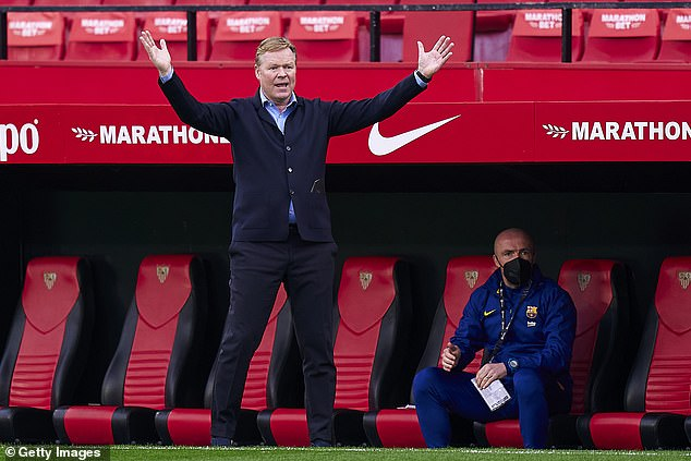 Ronald Koeman doesn't have a large budget at Barcelona so Aguero is an attractive option