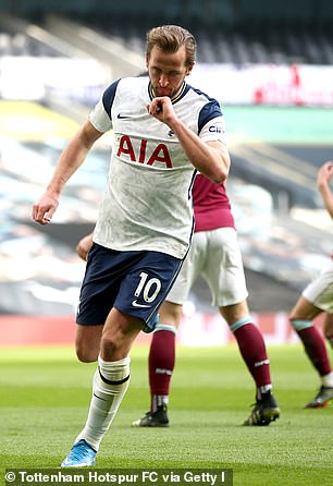 Tottenham's Harry Kane is one of Manchester City's prime targets for this summer