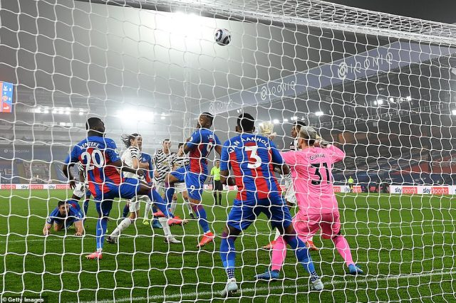 United had flashes of promise during the game but were unable to keep up momentum and break down Palace