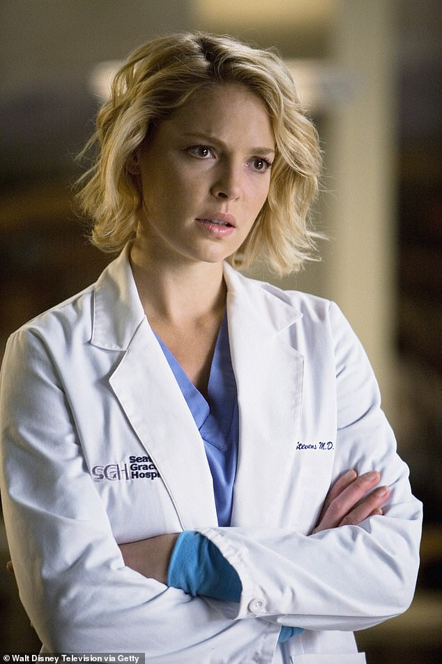 Famous role: The actress is best known for her portrayal of Dr Izzie Stevens in the ABC medical drama Grey's Anatomy from 2005 to 2010