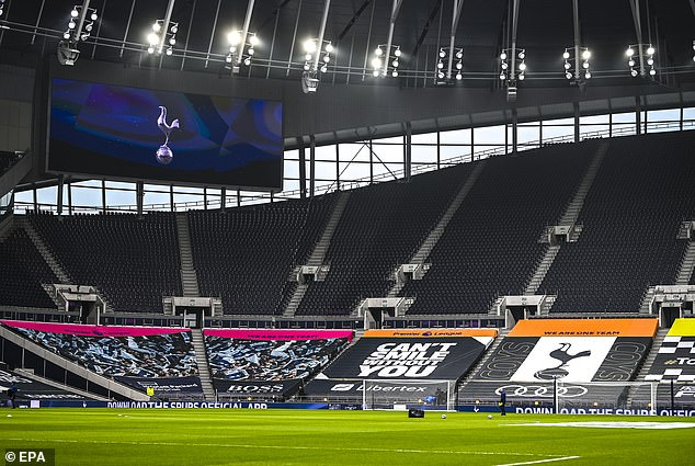 The Tottenham Hotspur Stadium would be an ideal venue to host extra Euro 2020 games