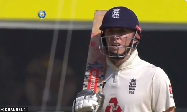 England opener Zak Crawley reacts as he is dismissed for just nine by Axar Patel