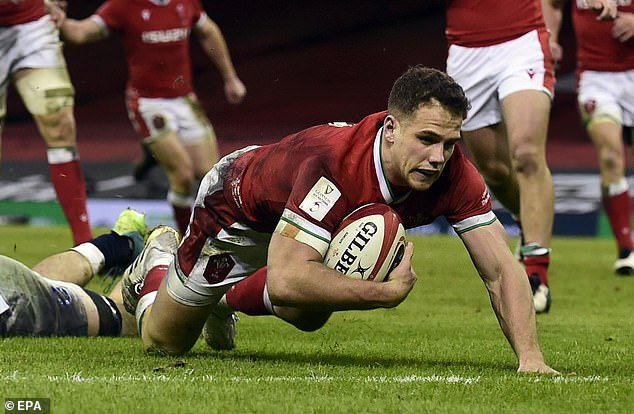 Kieran Hardy, pictured scoring against England, has been ruled out for the remaining games