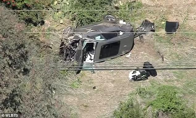 Woods' SUV was wrecked in the collision. The judge said the lack of skid marks on the road and the fact his was the only vehicle involved are suggestive of reckless driving