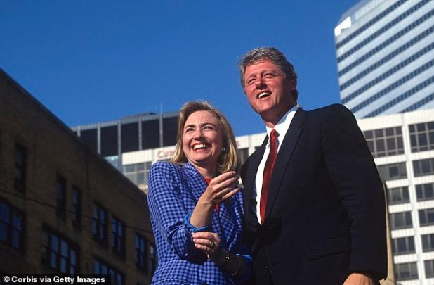 Powerful Couple: The Clintons During Their 1992 Presidential Campaign