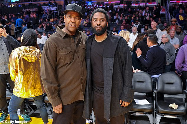 Denzel Washington said that his son John (pictured together) would play Boy Willie in The Piano Lesson