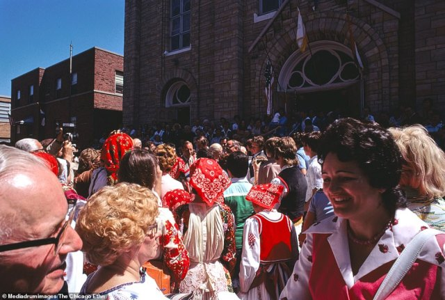 St. Jerome's Annual Parish Festival at the Croatian Catholic Church, Bridgeport, Chicago, Illinois.