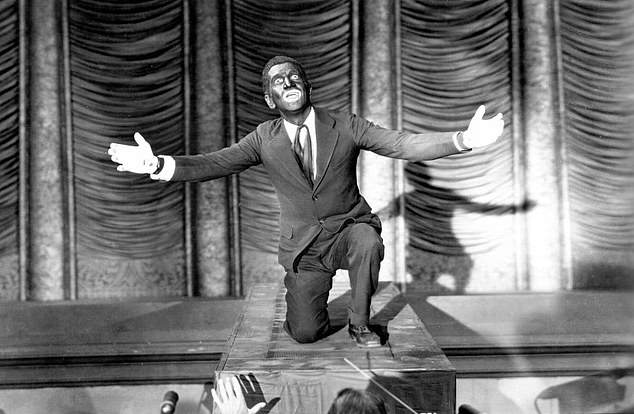 Among the films up for discussion are The Jazz Singer, considered the first talking picture, for Al Jolson's blackface routine (above)