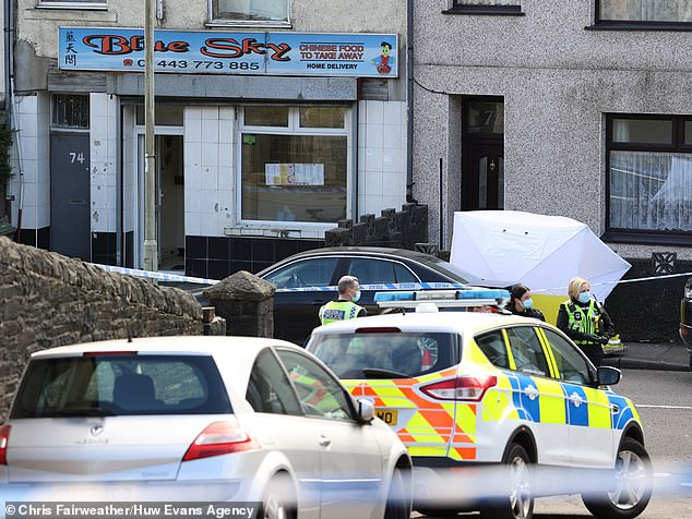 A 16-year-old girl has died and several others are feared seriously injured after a knife attack at a Chinese takeaway in a rural Welsh village