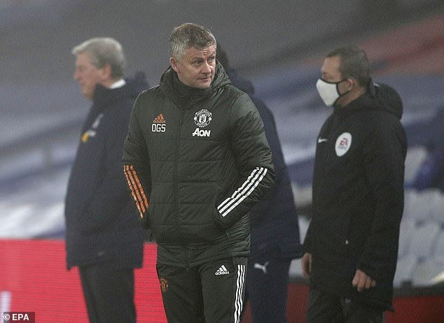 Ole Gunnar Solskjaer said last month they shouldn't have even been considered contenders