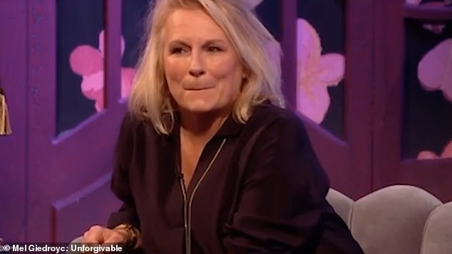 Funny!Jennifer, who was on the show alongside her daughter, hid behind her hands in embarrassment as the confession was discussed by Beattie and Mel