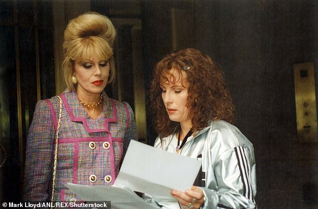 Classic!A much-loved series, Absolutely Fabulous ran from 1992-2012. The show followed the misadventures of two best friends Edina Monsoon and Patsy Stone (pictured in 1994 show still)
