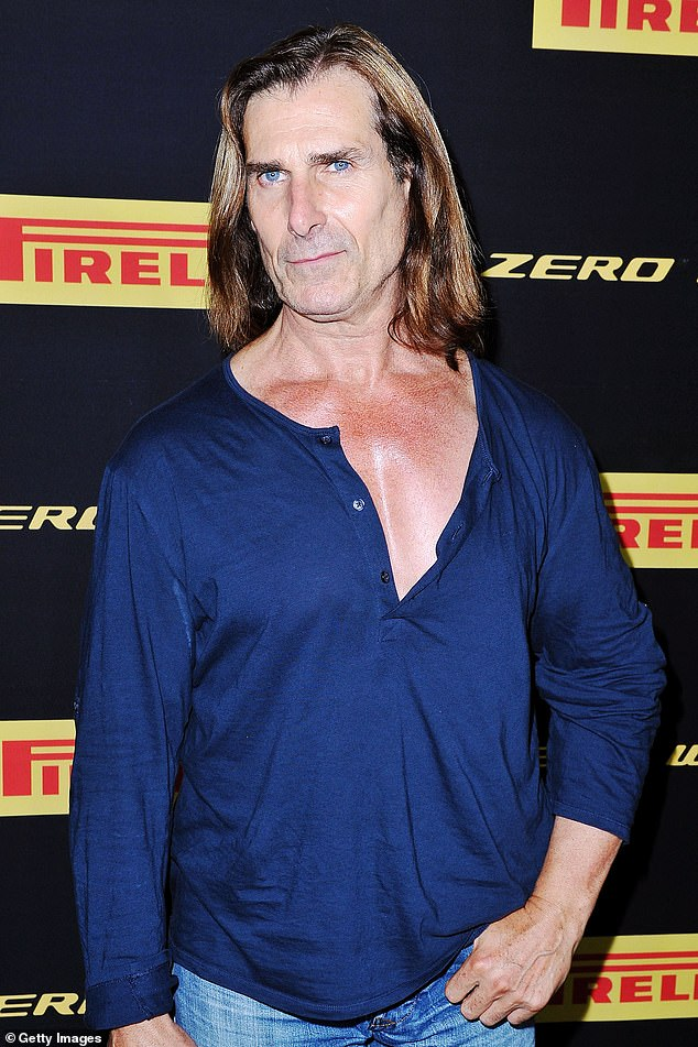 'They're the best': Iconic Italian-American model Fabio Lanzoni (pictured in 2016) is looking for an Australian bride and revealed to Australian newspaper The Sunday Telegraph's Stellar magazine over the weekend, why he is still single at 61.
