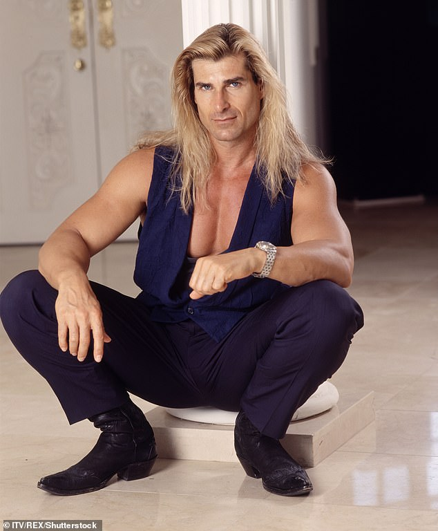 Attention ladies!  Fabio, who graced many romance covers throughout the '80s and' 90s, told the post: 'I want to look for a woman in Australia.  They are the best - they are beautiful, and they are really nice, down to earth '