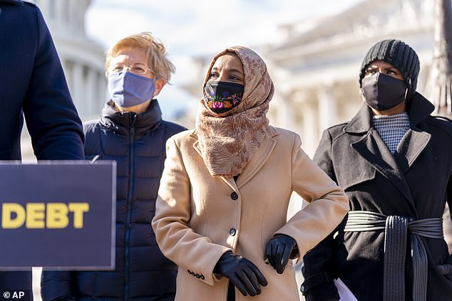 Rep. Ilhan Omar, D-Minn, has expressed her dismay at the size of the package after lawmakers cut direct payments, reduced unemployment benefits and removed a hike of the minimum wage to $15