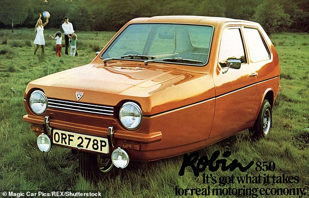 The Robin Reliant is best known as Del Boy's car from Only Fools and Horses