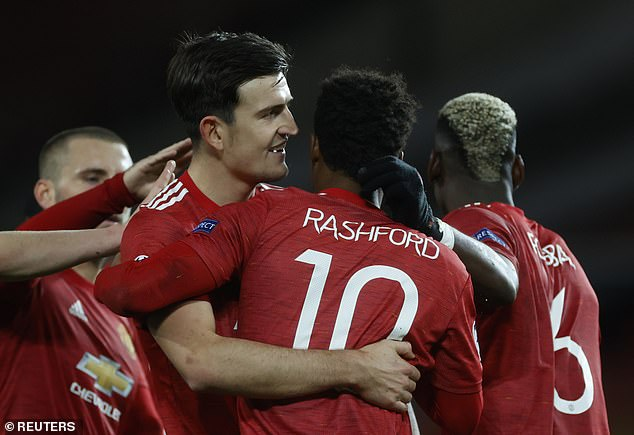 The United skipper insists he and Rashford (pictured) have the utmost respect for one another
