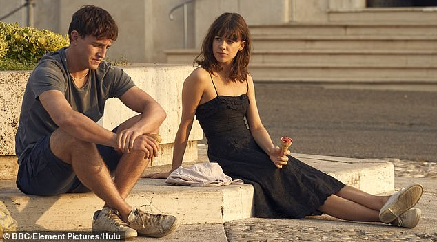 Big success: Daisy became an overnight sensation when she starred as Marianna in Normal People, alongside Paul Mescal (Connell) in the adaptation of Sally Rooney's novel