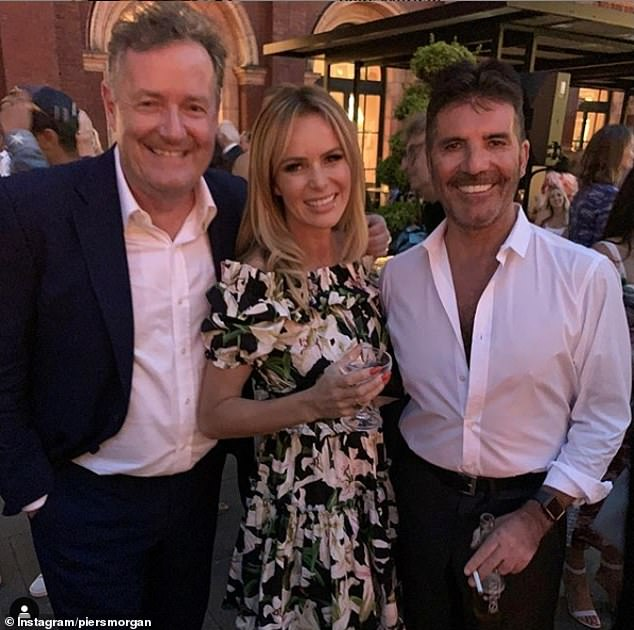 Other than watching him stroll slowly through Britain's Got Talent (pictured with co-judge Amanda Holden) audiences like a smug regal sloth gleefully inhaling idolatrous fame fumes, I can't recall ever seeing him move more than 100 metres on his feet