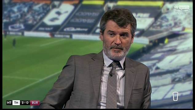 However, Keane labelled the remarks 'bizarre' and told the United star to 'get over it'