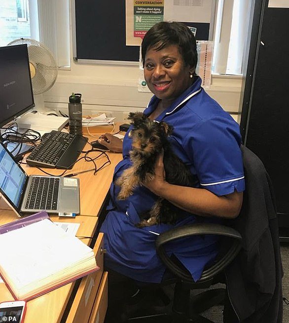Linda Obiageli Udeagbala, from Croydon, south London, died last month after contracting Covid-19 as she continued to work at Epsom and St Helier University Hospitals NHS Trust