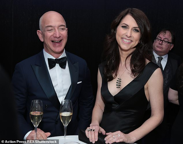 Scott, who was previously known as MacKenzie Bezos and is worth an estimated $53 billion, divorced the Amazon founder back in 2019