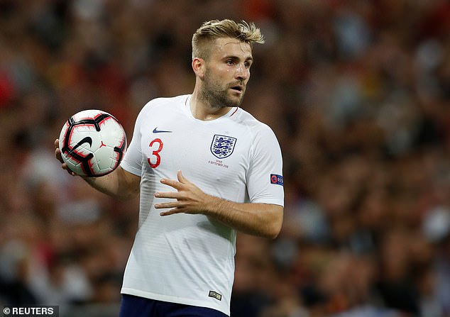 The former United man believes Shaw is in line for an England recall ahead of Euro 2020