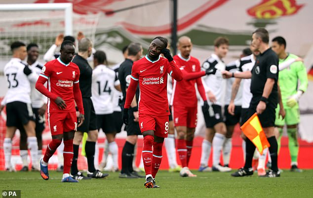 The Reds are facing a battle just to claim a top four spot after their rotten run of results