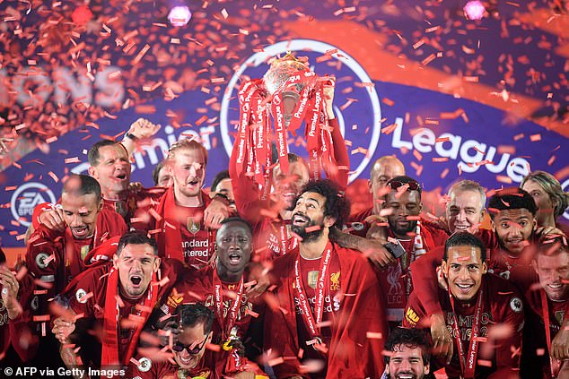 He reiterated that Liverpool were clearly 'a fantastic team' after winning the Premier League and Champions League back to back