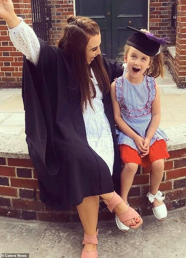 Nicole and her graduation with Tilly. Nicole candidly revealed she still couldn't insert a tampon in her vagina due to her condition, but said she was grateful she could have a normal life