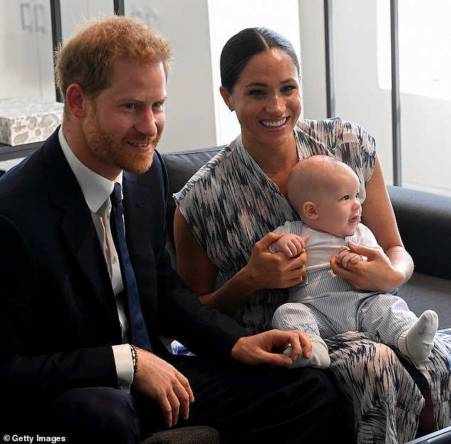 On Sunday night, Meghan revealed there was 'a conversation' about 'how dark' Archie's skin would be before he was born