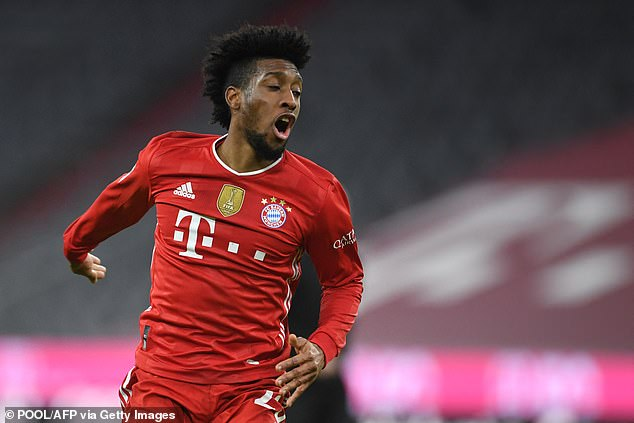 Bayern Munich winger Kingsley Coman rejected the club's first offer of a contract extension