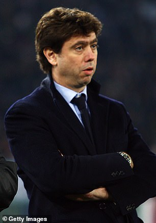 Andrea Agnelli, chairman of the European Clubs Association is a key player in Champions League reforms