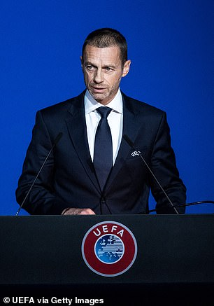 UEFA President Aleksander Ceferin has been leading efforts to reform the Champions League