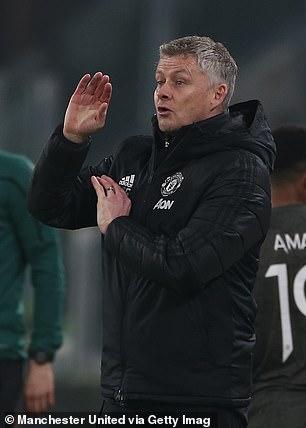 Cavani's departure could leave manager Ole Gunnar Solskjaer short of attacking options