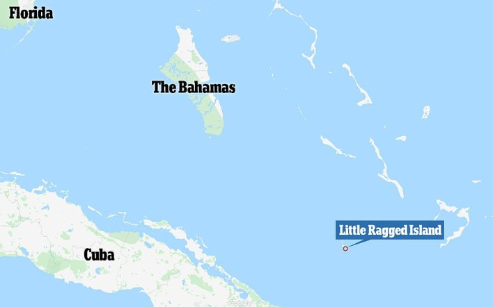 The island is the southernmost island of the Ragged Chain and is located five miles from Duncan Town, 139 miles from Cuba, 223 miles from Nassau and 372 miles from Miami