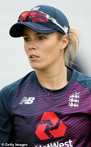 Alex Hartley (pictured) says that Rory Burns did not understand her jokey comment during England's defeat in India