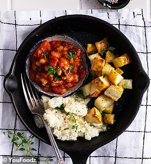 'I started consuming 1,500 calories per day and following the professional-approved meal program from Youfoodz and The Doctor's Kitchen,' Dr Wuth told Daily Mail Australia (the meals pictured)