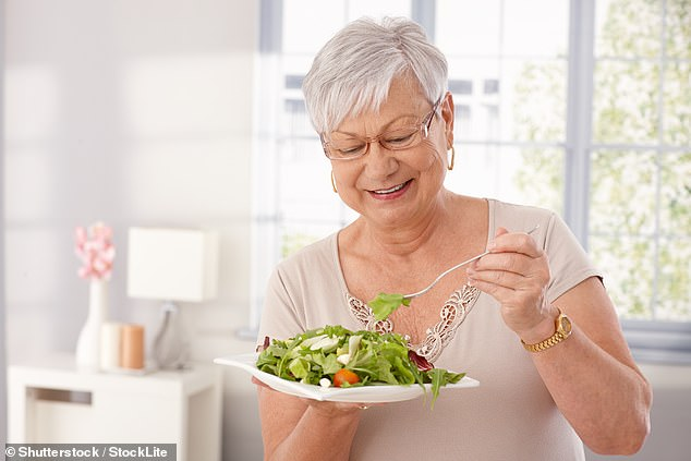 They have discovered, as I have, that cutting the carbs doesn't mean missing out on good food — not least if you are following the wonderful low-carb recipes by Katie Caldesi running in pullouts all this week in the Mail. An added bonus is that they all take less than 30 minutes to prepare 'from fridge to fork' (stock image)