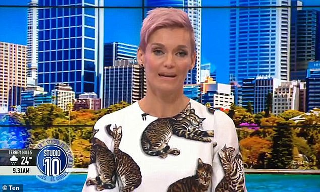 Breaking point:The TV personality has also spoken about her struggle with depression towards the end of her tenure at Studio 10. Jessica told The Australian Women's Weekly in March 2019 she'd been close to breaking point when she decided to quit her morning TV role