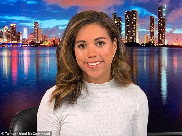 Teen Vogue staff have publicly slammed their new editor-in-chief Alexi McCammond (pictured) over resurfaced tweets mocking Asian and gay people