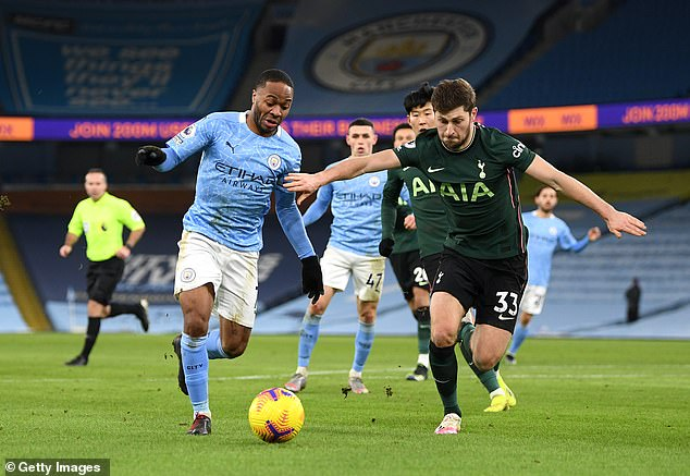 Manchester City and Tottenham are due to meet in the competition's showpiece on April 25