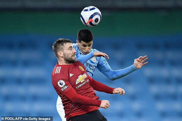 Shaw didn't put a foot wrong as United won at the Etihad Stadium for their third visit in a row