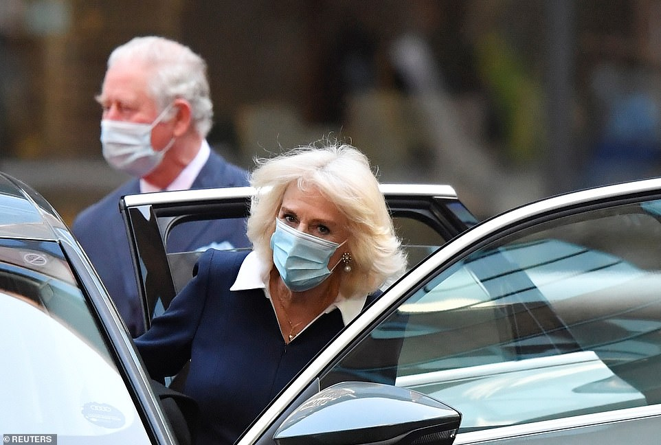 Prince Charles and Camilla, the Duchess of Cornwall, leave today after another visit, this time to the headquarters of NHS England