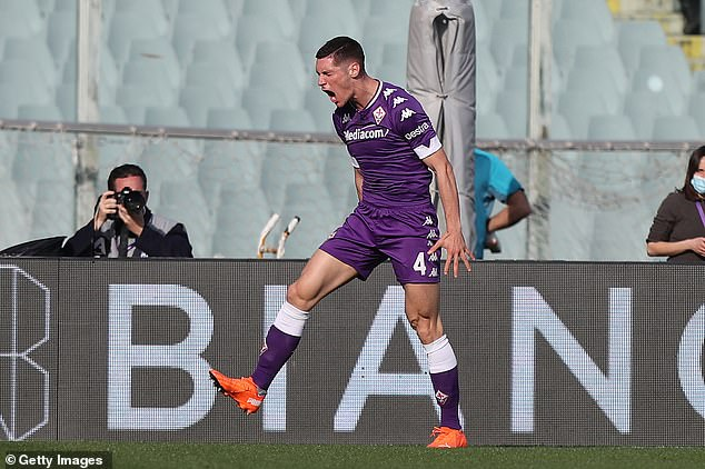 Fiorentina defender Nikola Milenkovic has been linked with a move to Manchester United