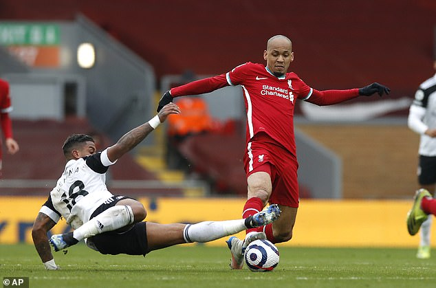 Fabinho's rare return to midfield against Fulham showed Liverpool what they've been missing