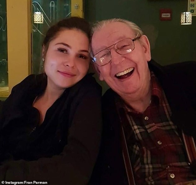 Family:u00A0u00A0The TV personality's weight ballooned by more than three stone while she cared for her elderly grandfather, who has since passed away, during Britain's first nationwide lockdown
